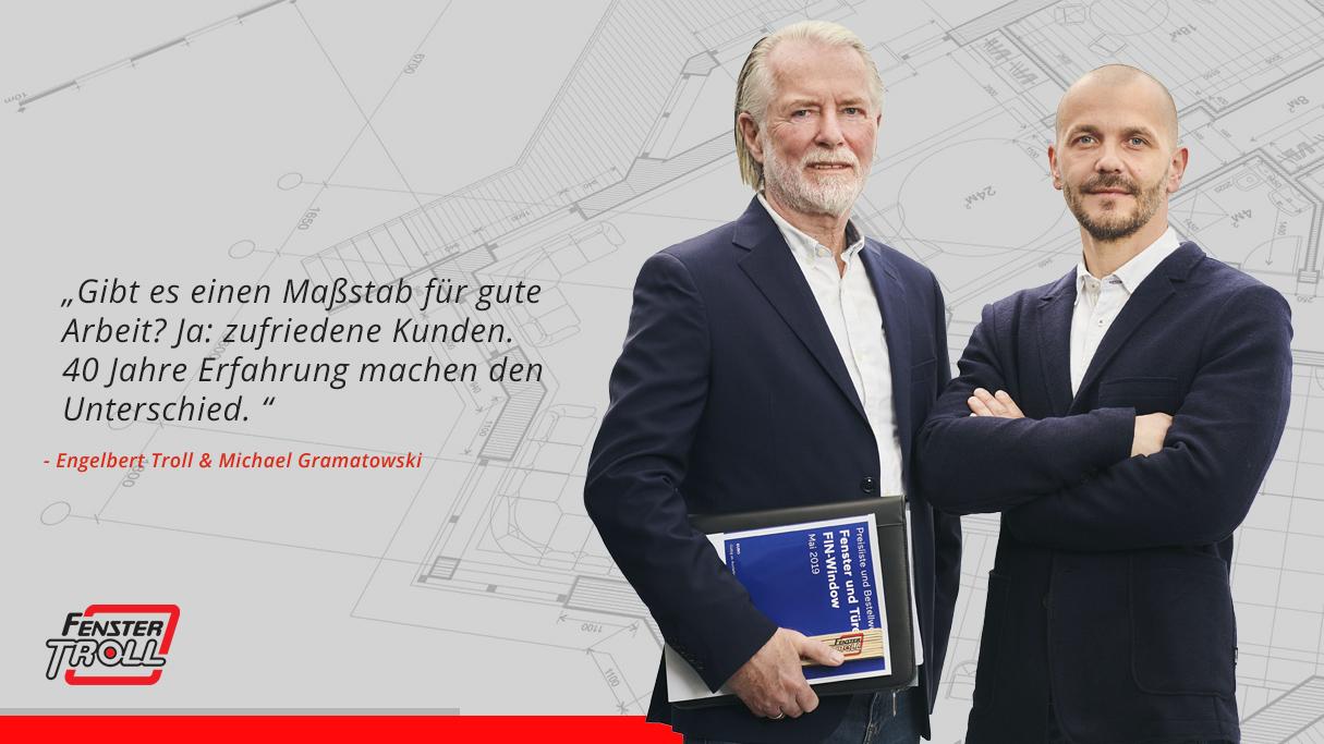 Engelbert Troll und Michael Gramatowski